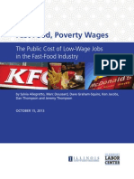 """Fast Food, Poverty Wages"""