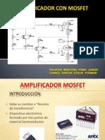 Grupo9-Amplificadores Con Mosfet-pulache Montero- Chavez Santur