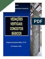 Aula 01 - Sistemas de Vedaç_es Verticais - conceitos [Modo de Compatibilidade]