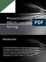 ~móvil Hibrido con motor  Stirling