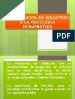 Contribucion de Goldstein a La Psicologia Humanistica
