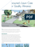 The Homeowner's Lawn Care and Water Quality Almanac
