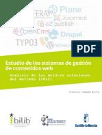 Estudio Sistemas Gestion Contenidos Web Cms