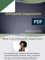 orthopedic impairment wquiz