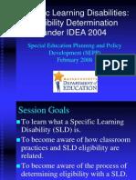 sld eligibility