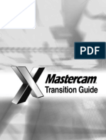 MastercamX Transition Guide