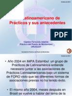 Fernando Adaime Foro Latinoamericano de Practicos y Sus Antecedentes