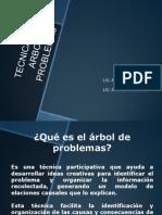 Planeacion y Diagnostico Curricular Arbol Problemas Objetivos