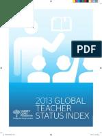 2013 Global Teacher Status Index