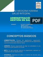 Clase 01- Administracion