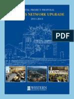 WWU Capital Project Proposal - Wireless Network Upgrade - 2011-13 (1)