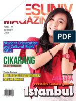 Presuniv Magazine Vol. x October Issue 2013