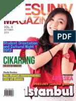 Presuniv Magazine Vol. x October Issue 2013
