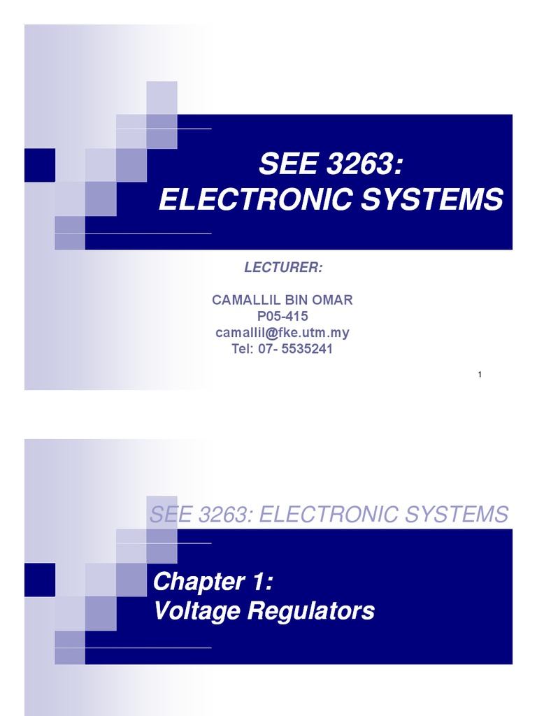 Voltage Regulator Power Supply Direct Current Shunt Circuit