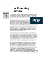 peer coaching overview