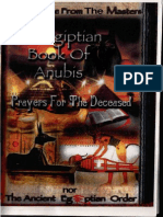 Dr York - The Egiptian Book of Anubis - Prayers for the Deceased