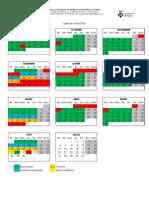 Calendari 2009-2010