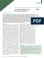 Severe Assessment Scores to Empirical Use of Antibiotics in Community Acquired Pneumonia