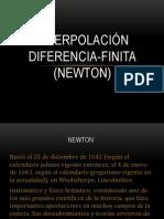 Diferencias Finitas (Newton Oficial)