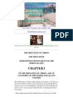 The Imitation of Christ_ First Book_ Chapter I