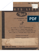 Tm 10-1546 MACK 5-TON EH, EHU, EHT AND EHUT, AUGUST 1942
