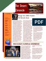 AZ Desert Chronicle - Fall 2013