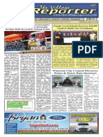 The Village Reporter - October 16th, 2013