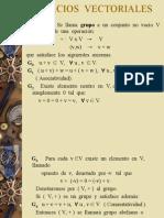 Clases Espacios Vectoriales-A.lineal