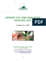 Epi Phy Tic Orchid Seeds Owing Kit