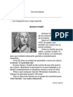 Guía de lenguaje tercero
