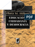 Educacion Ciudadania y Democracia