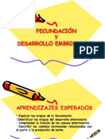 10. Fecundacion y desarrollo embrionario modificado2013.ppt