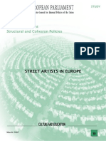 Street_arts in Europ Tesis