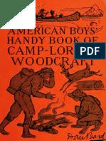 American Boys Handy Book of Camp Lore and Woodcraft - Dan Beard