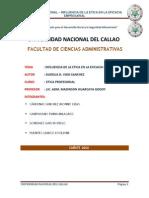 Monografia- Influencia de La Etica en La Eficacia Empresarial