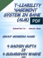 Asset-Liability Management by Sachin Gupta 19-2
