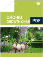 Orchid Growth Chamber