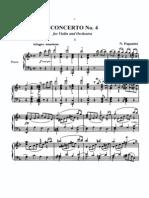 Concerto p Violino Nr 4 Paganini