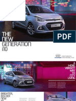 2014 Hyundai i10 UK Brochure