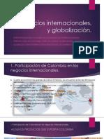 Negocios internacionales, y globalización