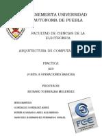 Arquitectura ALU