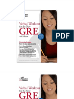 Verbal Workout for the New GRE 4nd Edition (1)