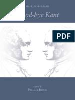 Ferraris Good-Bye Kant