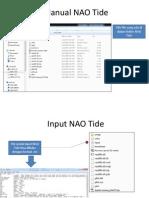 Manual NAO Tide