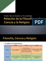 Relación de la Filosofía con la Ciencia y