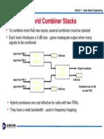 Hybrid Combiner Stack