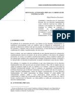 Derechos Fundamentales Autonomia Privada y Libertad de Contratacion