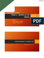 TEMA 2. Modelos de Redes