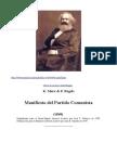 Manifiesto Comunista y Lecturas Preparatorias
