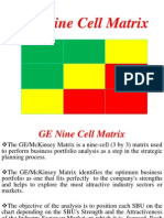 GE Nine Matrix